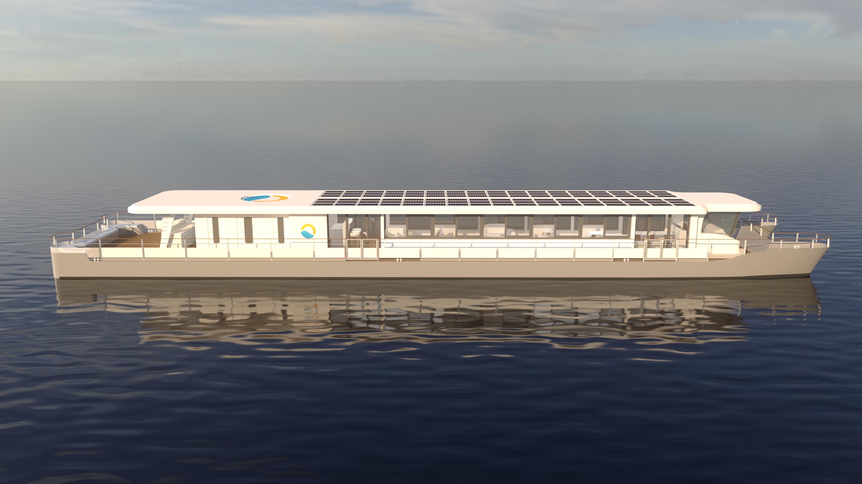 SolarCircleLine/Grafik: Kiebitzberg Schiffswerft